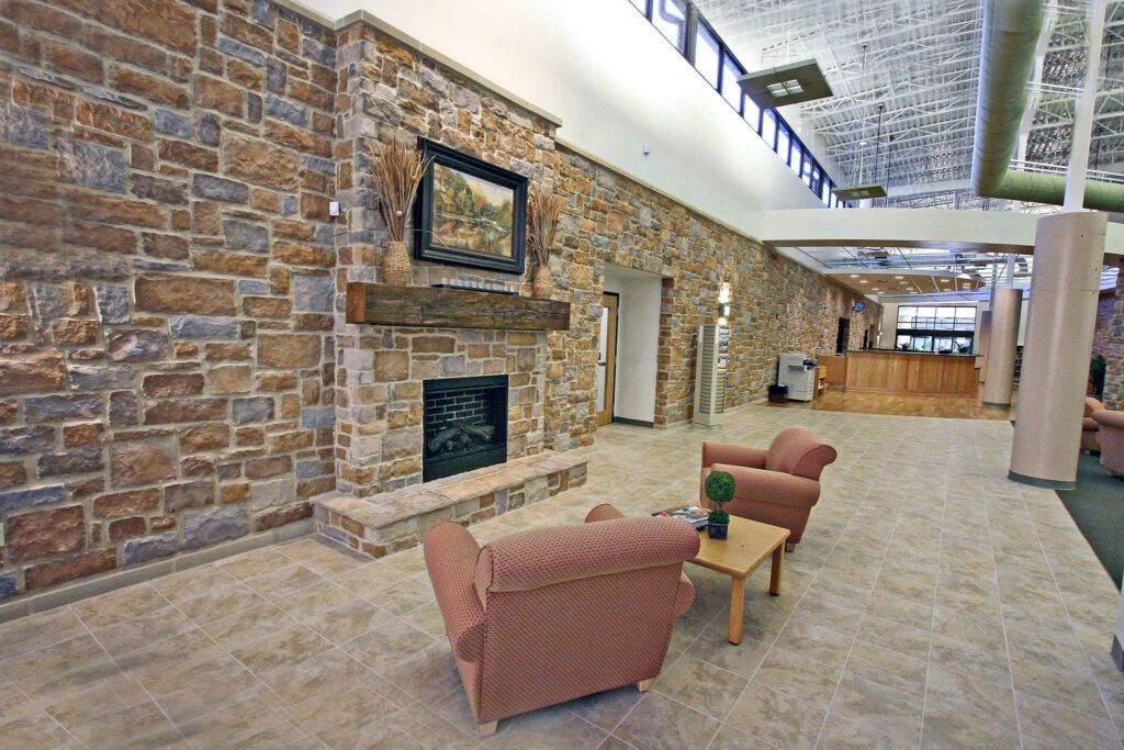 Library Pic fireplace