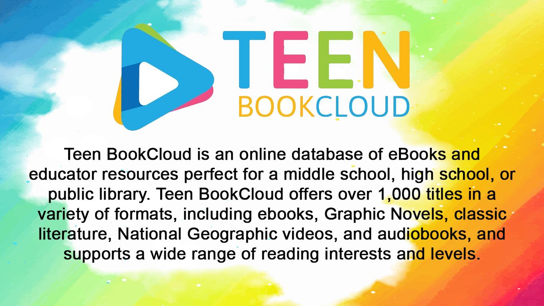 Teen Bookclub database slide